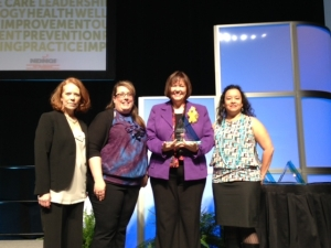 NDNQI award, Rose nursing excellence