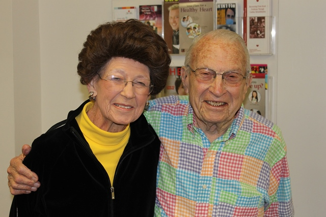 Harold and his wife, Roslyn
